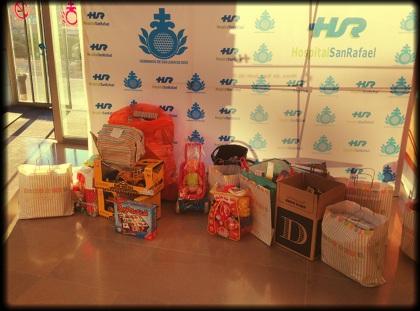 Juguetes donados a Baby Deli para los niños del hospital San Rafael